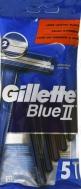 Gillette Blue II Slalom Ξυραφάκια 5 Τεμάχια