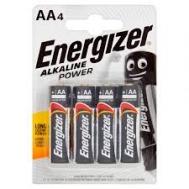 Energizer  μπαταρίες Alcaline AA  4 τεμάχια