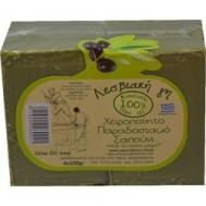 Λεσβιακη Γή Σαπούνι Μικρό Πράσινο 4x100 gr