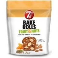 Bake Rolls Fruits & Nuts Αμύγδαλο Βερίκοκο &Μάραθος 80 gr