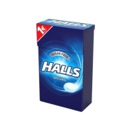 Halls Καραμέλες Original Χωρίς Ζάχαρη 28 gr