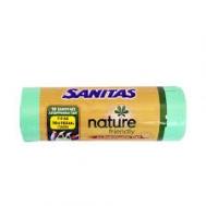 Sanitas Nature Σακούλες Απορριμμάτων Γίγας 70Χ102