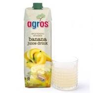 Agros Φρουτοποτό Μπανάνα 1 lt
