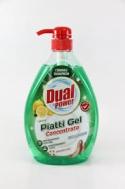 Dual Power  Limoni Verde Υγρό Πιάτων  1000 ml