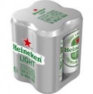 Heineken Light Μπύρα Κουτί 330 ml  x 4