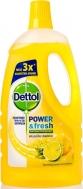 Dettol Power & Fresh Φρεσκάδα Λεμόνιου 1 lt