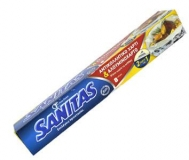Sanitas Αλουμινόχαρτο και Αντικολλητικό Χαρτί 8  Μέτρα