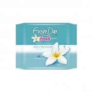 Every Day Fresh Υγρά Μαντηλάκια για την Ευαίσθητη Περιοχή με Εκχυλίσματα Αλόης & Χαμομηλιού 2 x 20 Τεμάχια