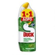 Duck Υγρό Τουαλέτας Πεύκο 750 ml 1+1 Δώρο
