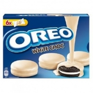 Oreo Μπισκότα White Chocolate 246 gr