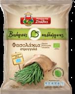 Μπάρμπα Στάθης Βιολογικές Καλλιέργιες Φασολάκια Σρόγγυλα 450 gr
