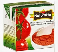 Naturalito Χυμός Ντομάτας με Καπάκι 500 gr