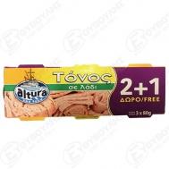 Altura Τόνος σε ηλιέλαιο 2+1 80 gr