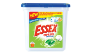 Essex Cotton Fresh Κάψουλες Πλυντηρίου Ρούχων 32 Τεμάχια