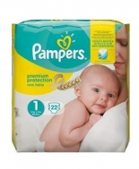 Pampers 1 22  Τεμάχια