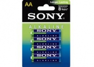Sony  μπαταρίες Alcaline AA  4 τεμάχια