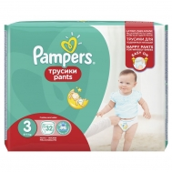 Pampers  Pants No 3 32 Τεμαχια