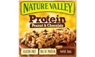 Nature Valley  Μπάρες Δημητριακών Protein με  Φιστίκι & Σοκολάτα   4Χ40 gr