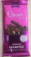Oscar Σοκολάτα με Καραμελωμένα Αμύγδαλα 85 gr
