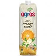 Agros Φρουτοποτό Πορτοκάλι Νεκταρ 1 lt