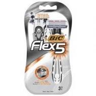 Bic Flex 5 Ξυραφάκια 3 Τεμάχια