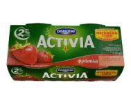 Activia Γιαούρτι με Φράουλα 2 Χ 200 gr