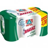Βλάχας Γάλα Εβαπορέ Ελαφρύ 397 gr (5+1 Δωρο)