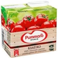 Pummaro Κλασσικό 2x500 gr το δεύτερο  φθηνότερα
