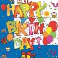 Happy Birthday  Χαρτοπετσέτες 20 Τεμάχια