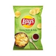 Lays  Πατατάκια Αλάτι & Ξύδι 130  gr