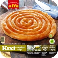 Αλφα Κοζανίτικη Πίτα Κιχί με Πράσο 800  gr