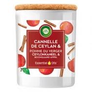 Air Wick Αρωματικό  Κερί  Μήλο & Κανέλα  185 ml