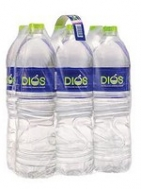 Διός Φυσικό Μεταλικό Νερό 6x1.5 lt
