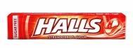 Halls Coolwave Καραμέλες Φράουλα Vita-C 33.5 gr