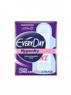 Everyday Hyperday Ultra Plus Extra Long Σερβιέτες 10 Τεμάχια