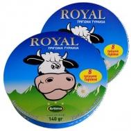 Royal τρίγωνο τυρί 8 μερίδες 140 gr