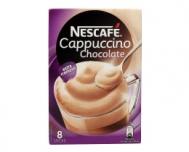 Nescafe Cappuccino Στιγμιαίο Ρόφημα με Σοκολάτα 8 Χ18 gr