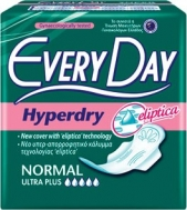 Everyday Hyperday Ultra Plus Normal Σερβιέτες 10 Τεμάχια