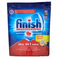 Finish Ταμπλέτες Πλυντηρίου Πιάτων Όλα σε 1 MAX 22+5 Τεμάχια
