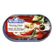Rugen Fish Φιλέτο Ρέγγας σε Πικάντικη Σάλτσα Τομάτας 200 gr