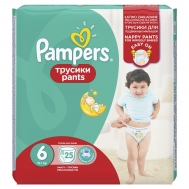 Pampers  Pants No 6 25 Τεμαχια