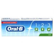 Oral B  Fresh Mint Οδοντόκρεμα 75 ml