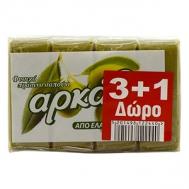 Αρκάδι Πράσινο Σαπούνι 150 gr 3+1 Δώρο