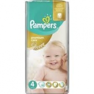 Pampers Premium care  No 4  52 Τεμαχια