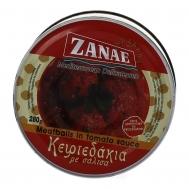 Zanae Κεφτεδάκια σε Σάλτσα 280 gr