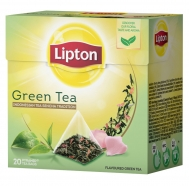 Lipton Green Tea Floral Taste & Aroma Πυραμίδα 20 Τεμάχια