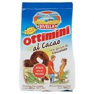 Divella Ottimini Μπισκότα  με Σοκολάτα 400 gr
