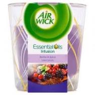 Air Wick Αρωματικό Κερί Μούρα και Μπαχαρικά 105 gr