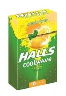 Halls Coolwave Καραμέλες Lemon Χωρίς Ζάχαρη 28 gr