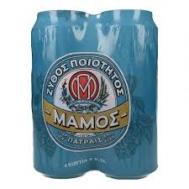 Μάμος  Μπύρα  4 Χ 500 ml